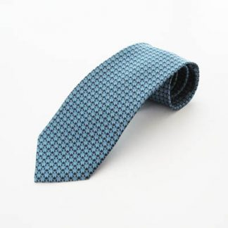 "63"" XL French Blue Diamond Pattern Men's Tie 997-0"