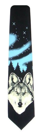 Wolf Men's Tie10751-0