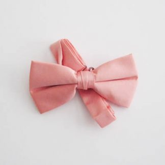 "Peach 2"" Solid Band Bow Tie 11272-0"