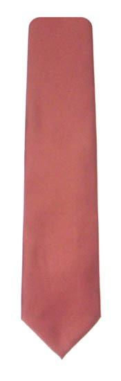 Copper Solid Men's Tie 1343-0