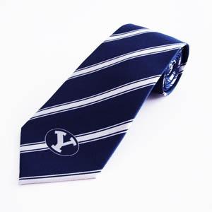 BYU Cougars Stripes Men's Tie 1500-0