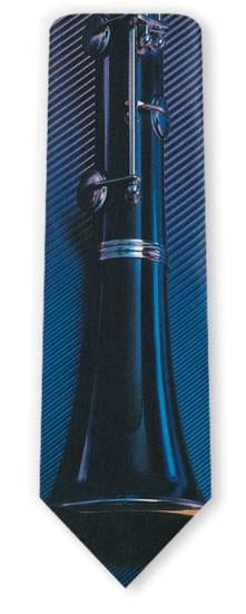 Clarinet Men's Tie 1602-0