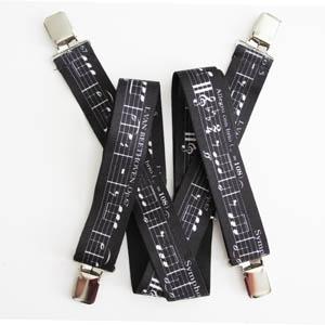 Music Suspenders 2057-0