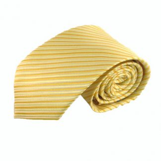 "63"" XL Yellow Stripe Men's Tie 11211-0"