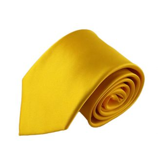 YellowSolid Men's Tiew/ Pocket Square 3015