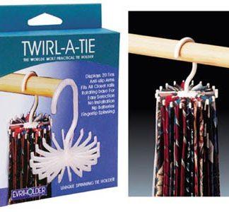 Twirl-a-Tie Tie Rack 4435-0