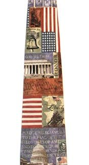 In God We Trust Silk Men's Tie 4693-0