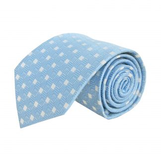 Light Blue Diamond Men's Tie 4877-0
