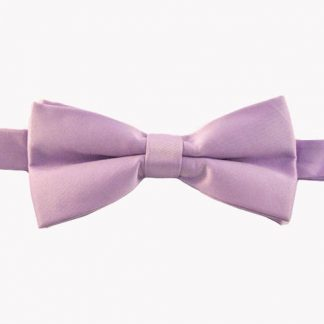 """Lavender Solid 2"""" Banded Bow Tie 4992-0"""