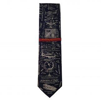 Principles of Flight Men's Novelty Silk Tie 5036