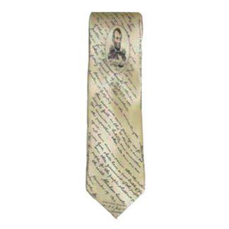 Lincoln, Gettysburg Address Silk Men's Tie 5062