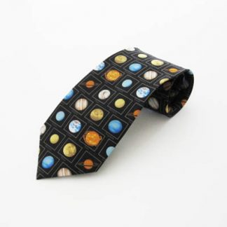 Planets w/Names Silk Men's Tie 5067-0