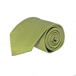 Olive Solid Tone on Tone Small Rectangle Weave Men's Tie 5427-0