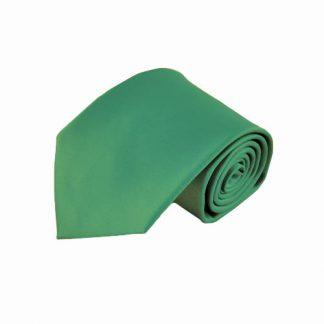 Emerald Solid Men's Tie w/ Pocket Square 6448