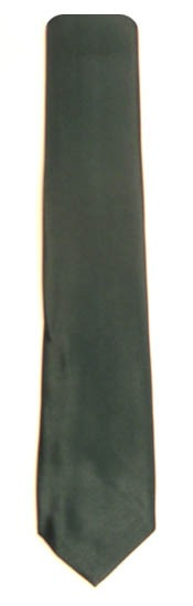 49'' Boys Hunter Green Solid Tie 7754-0