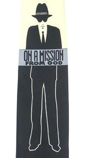 On A Mission Men's Tie 8026-0