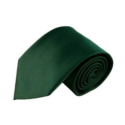 Hunter Solid Men's Tie w/ Pocket Square 8254
