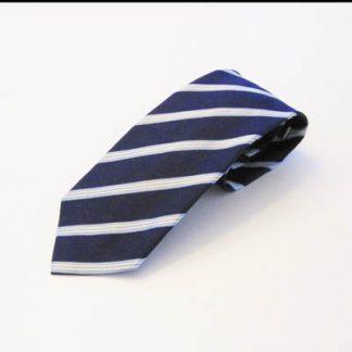 Navy, Yellow Stripe Men's Tie 8563-0