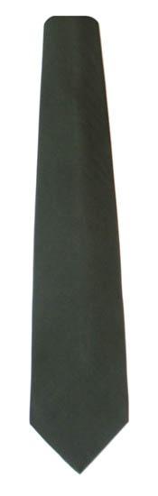 Olive Solid Men's Tie 9712-0
