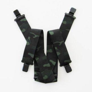Camouflage Suspenders 2747-0