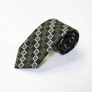 Olive, Black Square Men's Tie 2146-0