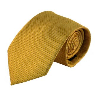 Gold w/ Blue Dots Men's Tie 11157