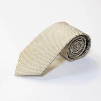 Taupe, Cream Small Square Men's Tie 4057-0