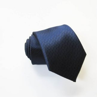 """49"""" Boy's Self Tie Navy Solid Tone on Tone Rectangles 9546-0"""