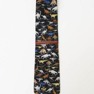 Dinosaurs with Names Silk Men's Tie 5035-0