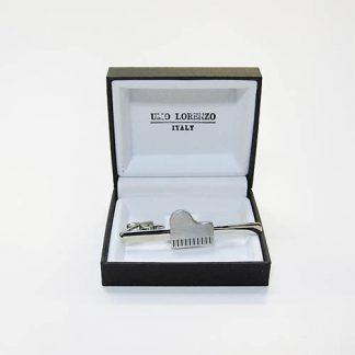 Silver Piano Tie Bar 2371-0