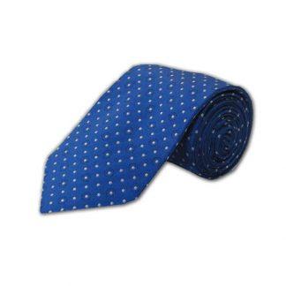 Blue w/Gray Dots Men's Tie 5211-0