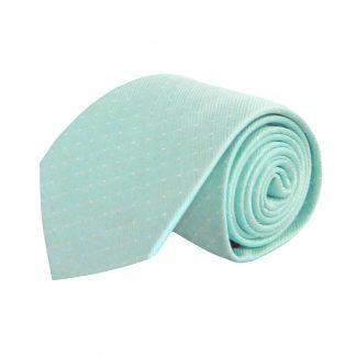 Aqua Solid Tone on Tone Stripe Men's Tie 5401-0