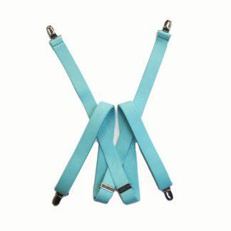 "48"" Mint Solid Suspenders 2953-4726"