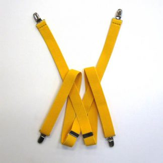 "Gold 48"" solid Suspenders 3877-0"