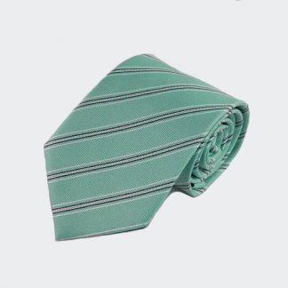 Jade, Gray Stripe Men's Tie 1095-0