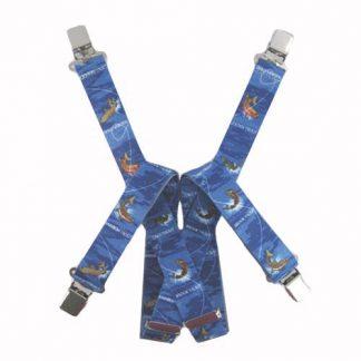 Blue Trout Suspenders 7857-0
