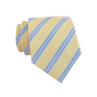 "Boy's 49"" Light Yellow & Blue Stripe 9610-0"