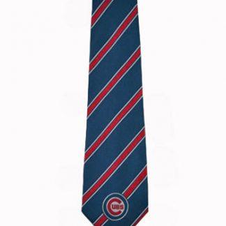 MLB Chicago Cubs Blue, Red Stripe Men's Tie 11330-0