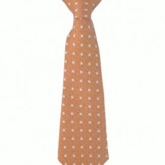 """8"""" Boy's Clip Orange w/White Dots 9979-0"""