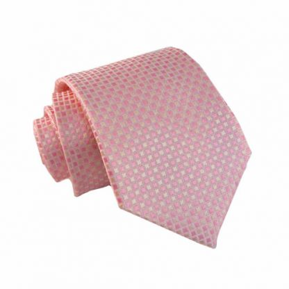 "49"" Boy's Pink, Pale Pink Small Squares 10192-0"