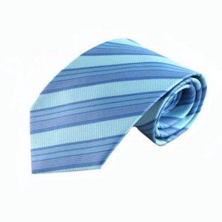 Aqua, Turquoise, Periwinkle Men's Tie 7782-0