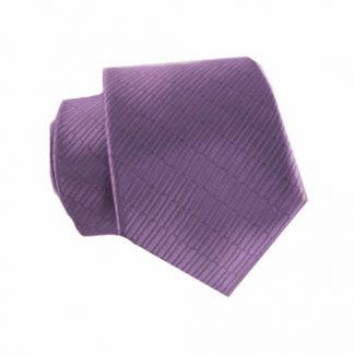 "49"" Self Tie Lavender Tone on Tone Small Rectangles Boy's Tie 9031-0"