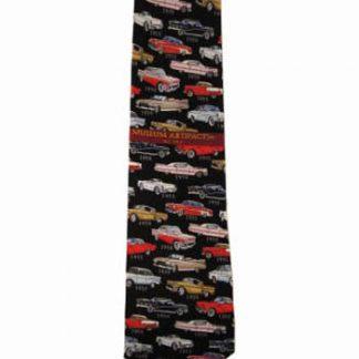 50's Cars Retro Men's Tie 7433-0