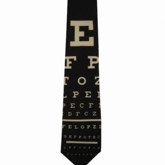 Eye Chart Men's Tie 7912-0