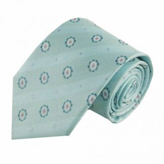 Aqua, Mint Medallion Men's Tie 1761-0