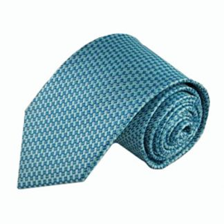 Tiffany Blue, Turquoise Small Basket Men's Tie 3354-0