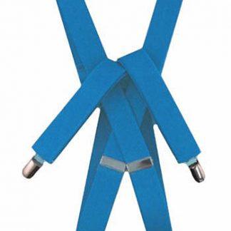"""Aqua Solid 1"""" Suspenders 9011-0"""