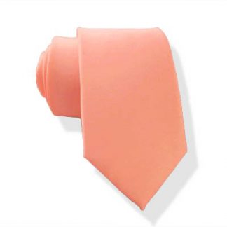 "49"" Boy's Bright Coral Self Tie 11081-0"