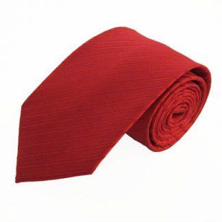 "63"" XL Red Tone on Tone Striped Men's Tie 2682-0"