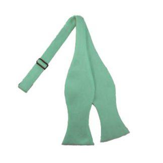 Tiffany Blue Self Tie Bow Tie 6085